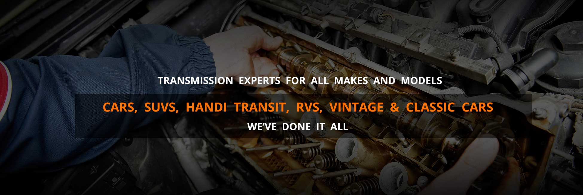 Transmission Expert for all makes and models