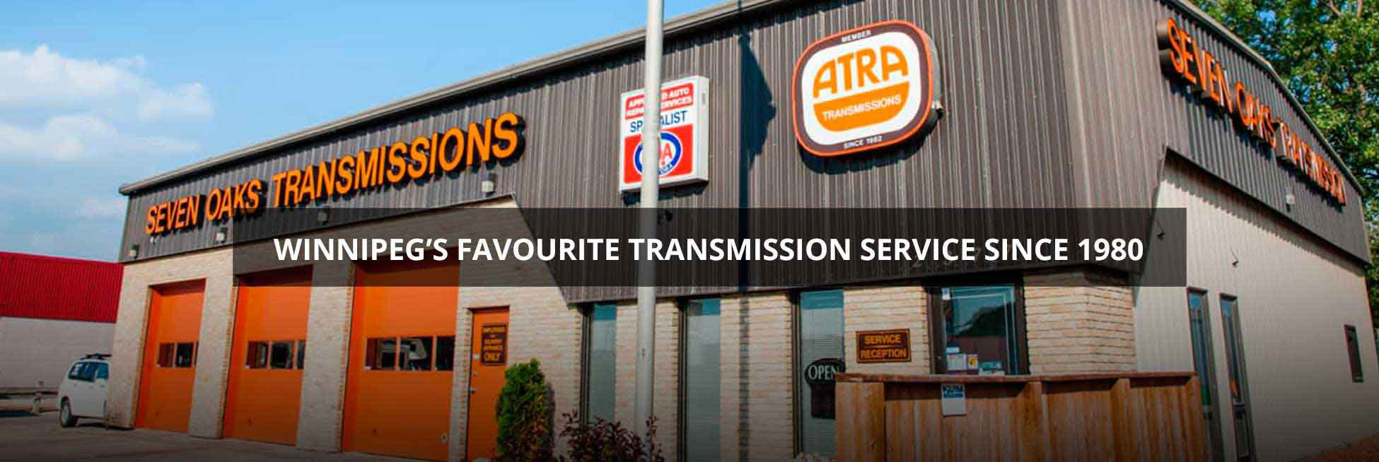 Transmission Expert Serving Winnipeg & Surrounding area